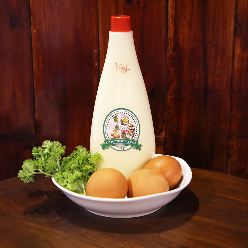 XỐT MAYONNAISE LE CHEF - TRUYỀN THỐNG (CLASSIC) 420GR